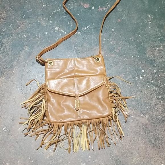 Madden Girl Handbags - Madden Girl Crossbody with fringe
